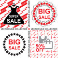 Sale collection Royalty Free Stock Photo