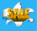 Sale design element Royalty Free Stock Photo