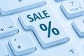 Sale discount online shopping e-commerce internet shop concept b Royalty Free Stock Photo
