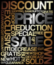 Sale discount poster Stock Photos