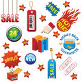 Sale elements set Stock Photography