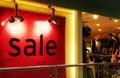 Sale, fashion apparel shop Royalty Free Stock Photo