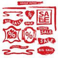 Sale.Grunge Stamps,badges,label,banners set Royalty Free Stock Photo