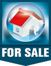 For sale house Stock Image