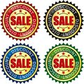 Sale label Stock Photo