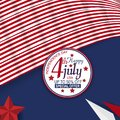 Sale material and element for fourth of july independence day of united states. Design for banner, advertising, greeting cards or