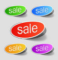 Sale percents Stock Images