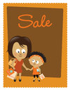 Sale poster Stock Photography