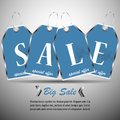 Sale price tag vector or discount with list Stock Photography