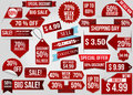 Sale red discount ribbons
