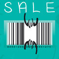 Sale season is open Royalty Free Stock Photos