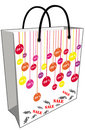 Sale shopping bag Royalty Free Stock Photos