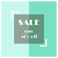 Sale Shopping poster advertisement retail Royalty Free Stock Photo