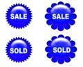 Sale  sign 4 Stock Photos