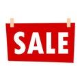 Sale Sign - illustration Royalty Free Stock Photo
