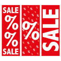 Sale Sign Royalty Free Stock Photo
