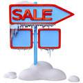 Sale signpost Stock Images