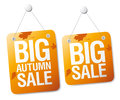 Sale signs. Stock Photos