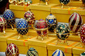 Sale of souvenirs on the Sparrow Hills in Moscow Royalty Free Stock Photo