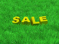 Sale of a summer collection Royalty Free Stock Photos