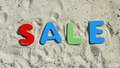 Sale in the summer Royalty Free Stock Photo