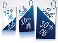Sale tag all your advertising design Stock Photography