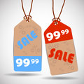 Sale tags eps illustration Stock Images