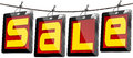 Sale Tags - Tablet Pc Stock Photography