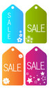 Sale vector tag Royalty Free Stock Photography