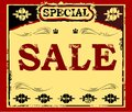 SALE Vintage Poster Stock Images