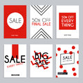Sale website banners web template collection. Can be used for mo