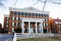 Salem College Main Hall Royalty Free Stock Photo