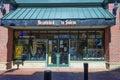 Salem Massachusetts novelty shop Royalty Free Stock Photo