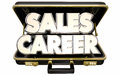 Sales Career Job Position Selling Business Briefcase