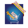 Sales a colored icon with some text for Stock Image