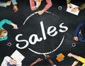 Sales Economy Marketing Financial Good Concept Royalty Free Stock Photo