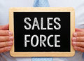 Sales Force Royalty Free Stock Photo