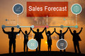 Sales Forecast Planning Strategy Business Concept Royalty Free Stock Photo