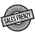 Sales Frenzy rubber stamp Royalty Free Stock Photo
