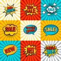 Sales icons vector set