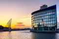 Salford Quays Manchester England Royalty Free Stock Photo