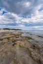 Salinas beach in ibiza spain Royalty Free Stock Image