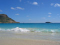 Saline beach st barts french west indies at Stock Photo