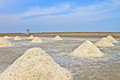 Saline salt in the in rural thailand Stock Image
