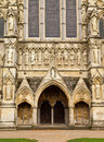 Salisbury Cathedral Entrance Royalty Free Stock Photo