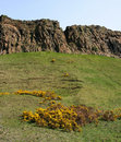 Salisbury Crags Royalty Free Stock Photo