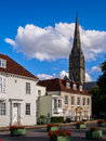 Salisbury Historic Buildings Royalty Free Stock Photo