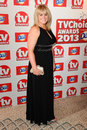 Sally lindsay arriving at the tv choice awards held at the dorchester london picture by steve vas featureflash Royalty Free Stock Photography