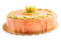 Salmon Cake Royalty Free Stock Photos