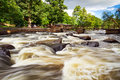 Salmon cascades of Sweden Stock Images